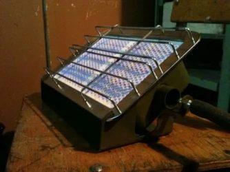 Печка на газу для гаража