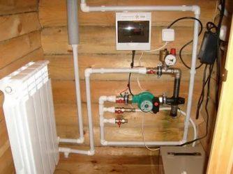 Отопление загородного дома своими руками электрокотлом