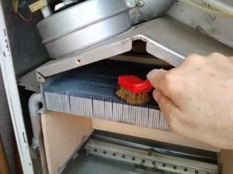 Как чистить горелку газового котла?